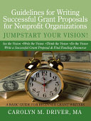 Guidelines for Writing Successful Grant Proposals for Nonprofit Organizations