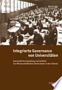 Integrierte Governance von Universitäten