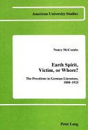 Earth Spirit  Victim  Or Whore