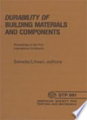 Durability of Building Materials and Components Book