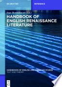Handbook Of English Renaissance Literature