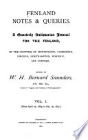 Fenland Notes and Queries