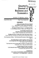 Quarterly Journal Of Business And Economics