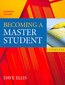Becoming A Master Student Concise Eleventh Edition Plus Houghton Mifflin Portfolio Two Point Zero Passkey Book