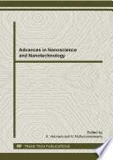 Advances In Nanoscience And Nanotechnology Book PDF