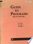 Guide to Programs