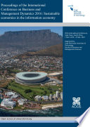 Proceedings of the International Conference on Business and Management Dynamics 2016  Sustainable economies in the information economy
