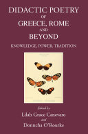 Didactic Poetry of Greece  Rome and Beyond