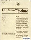 Federal register update