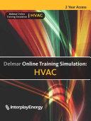 Delmar Online Training Simulation  HVAC Printed Access Code Card