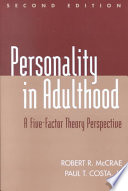Personality in Adulthood Book