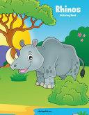 Rhinos Coloring Book 1