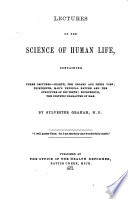 Lectures on the Science of Human Life