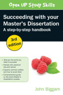 Succeeding With Your Master S Dissertation  A Step By Step Handbook