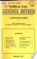 Metropolitan Detroit Science Review  , Bände 28-29