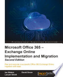 Microsoft Office 365 – Exchange Online Implementation and Migration.epub