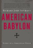 American Babylon Book