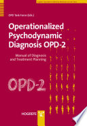 Operationalized Psychodynamic Diagnosis OPD 2