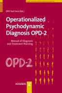 Operationalized Psychodynamic Diagnosis OPD-2 [Pdf/ePub] eBook