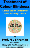 Pdf Treatment of Colour Blindness (Colour Vision Deficiency) Self-Learning Course Telecharger