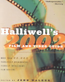 Halliwell S Film And Video Guide 2002 Book PDF