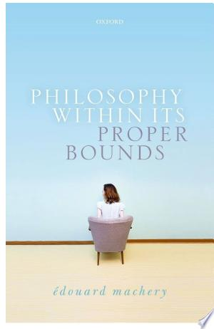 Philosophy+Within+Its+Proper+BoundsIn Philosophy Within Its Proper Bounds, Edouard Machery argues that resolving many traditional and contemporary philosophical issues is beyond our epistemic reach and that philosophy should re-orient itself toward more humble, but ultimately more important intellectual endeavors. Any resolution to many of these contemporary issues would require an epistemic access to metaphysical possibilities and necessities, which, Machery argues, we do not have. In effect, then, Philosophy Within Its Proper Bounds defends a form of modal skepticism. The book assesses the main philosophical method for acquiring the modal knowledge that the resolution of modally immodest philosophical issues turns on: the method of cases, that is, the consideration of actual or hypothetical situations (which cases or thought experiments describe) in order to determine what facts hold in these situations. Canvassing the extensive work done by experimental philosophers over the last 15 years, Edouard Machery shows that the method of cases is unreliable and should be rejected. Importantly, the dismissal of modally immodest philosophical issues is no cause for despair - many important philosophical issues remain within our epistemic reach. In particular, reorienting the course of philosophy would free time and resources for bringing back to prominence a once-central intellectual endeavor: conceptual analysis.