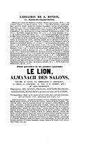 La Chronique, France politique et litteraire