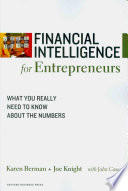 Financial Intelligence For Entrepreneurs