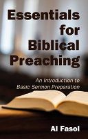 Essentials for Biblical Preaching