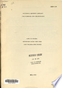 List of Books Received from the USSR and Translated Books