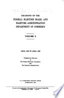 Decisions of the Federal Maritime Commission