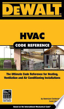 HVAC Code Reference  : Based on the International Mechanical Code