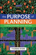 The Purpose of Planning