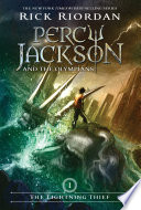 Lightning Thief Rick Riordan Cover
