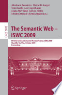 The Semantic Web   ISWC 2009