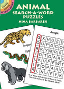 Animal Search a Word Puzzles