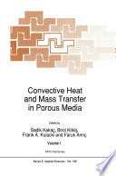 Convective Heat And Mass Transfer In Porous Media Book PDF