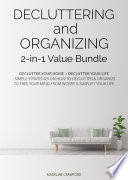 Decluttering And Organizing 2 In 1 Value Bundle