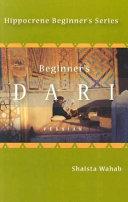 Beginner S Dari Persian