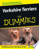 """""""Yorkshire Terriers For Dummies"""" by Tracy Barr, Peter F. Veling"""