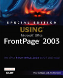 Special Edition Using Microsoft Office FrontPage 2003