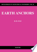 Earth Anchors Book