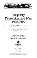 Pdf Prosperity, Depression, and War, 1920-1945