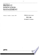 The journal of product innovation management