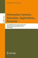 Information Systems: Education, Applications, Research