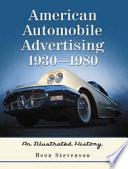 American Automobile Advertising  1930  1980