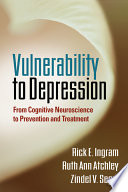 Vulnerability to Depression Book
