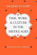 Pdf Time, Work, and Culture in the Middle Ages