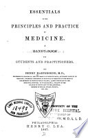 Essentials of the principles and practice of medicine