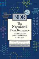 Negotiator's Desk Reference